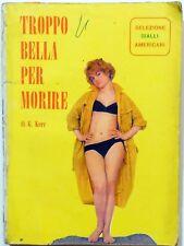 ROMANZO SELEZIONE GIALLO AMERICANI N.9 1965 G.KERR EUROPER