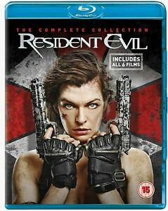 RESIDENT EVIL The Complete 6 Film Collection (Region B) Blu-ray Final Chaper 1-6