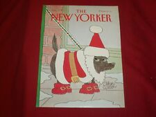 1991 DECEMBER 9 NEW YORKER MAGAZINE FRONT COVER ONLY - GREAT ART FOR FRAMING