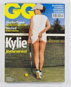 KYLIE MINOGUE TERRY RICHARDSON CHARLIZE THERON TOM FORD GUCCI GQ magazine 7/2000
