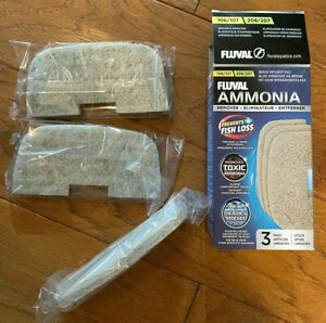 FLUVAL AMMONIA PADS 3 PK 104 204 105 205 106 206 107 207 A257 CANISTER NEW
