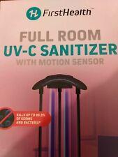 First Health Full Room Uv-C Sanitizer With Motion Sensor