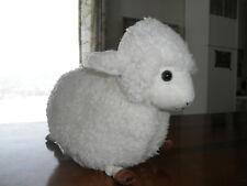 Nwt Adorable Plush Stuffed Animal White Lamb Sheep Country Farm Toy