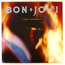 "12"" LP - Bon Jovi - 7800° Fahrenheit - M1004 - washed & cleaned"