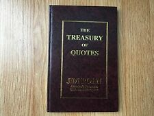The Treasury of Quotes By Jim Rohn - LIKE NEW HARDCOVER VERSION!