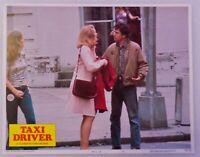 "ORIGINAL 1976 LOBBY CARD 14"" x 11"" - ""TAXI DRIVER"" - DE NIRO - JODIE FOSTER"