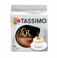 Tassimo T Discs LOR Cappucino Coffee Pods for TAS1252GB TAS4000GB T32