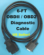 Mac Tools Main OBD2 OBDII Cable For Perceptor Elite Plus Scan Tool ET2005A 6FT