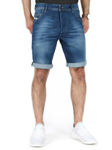 Diesel Herren Regular Fit Denim Jeans Shorts Hose Stretch - KROSHORT RG48R