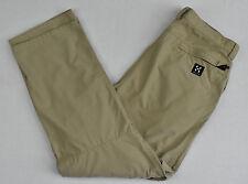 Femme Haglofs Pantalon climatiques tissu protecteur Randonnée Long/Court Pantalon 46