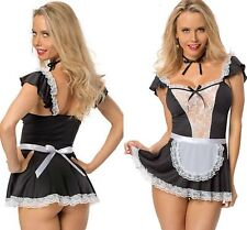Sexy Naughty After Hours French Maid Waitress Costume Servant Outfit 8 - 16