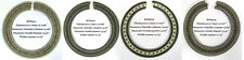 Classical Guitar Wood Inlay Rosette 4 Pieces in a set ROS501-504
