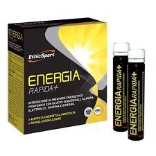 EthicSport ENERGIA RAPIDA+ 10 flaconi da 25ml Integratore energetico Ethic Sport