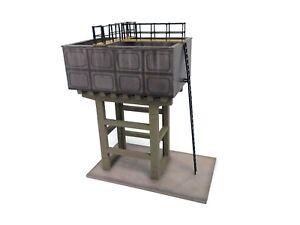 LASER CUT WATER TOWER KIT OO GAUGE 1:76 SCALE FOR MODEL RAILWAY LX208-OO