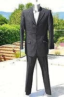 HUGO BOSS flynn/vegas joli costume noir veste 48 pantalon 44 - EXCELLENT ÉTAT