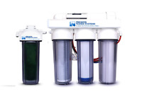 5 Stage 150 GPD Reverse Osmosis/DI Aquarium Reef Water Filter System 0 PPM RODI