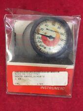 Scubapro Scuba Diving Diver's Depth Gauge Oilfilled 28-061-000 w/Instructions