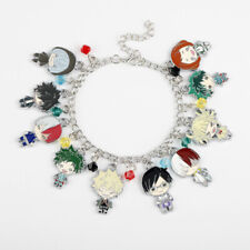 USA Anime My Hero Academia Boku no hero Retro Chain Charm Bracelet Metal Pretty