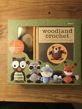 Woodland Critters Crochet Kit Make Fawn & Fox 12 Project Ideas For Ages 14+