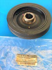GENUINE 00-06 Nissan Sentra XE OEM crankshaft PULLEY 12303-5M000 12303-4Z400