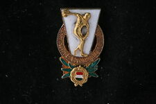 Rare Hungary Hungarian Excellent Worker Sports Physical Education Medal Badge