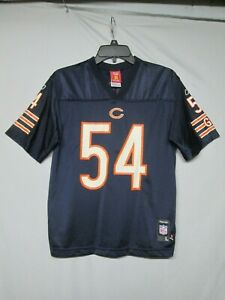 NFL Chicago Bears Brian Urlacher Reebok Youth Jersey Size Large 14 - 16