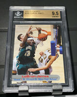 2003 sports illustrated For Kids lebron james Rookie BGS 9.5 Gem Mint