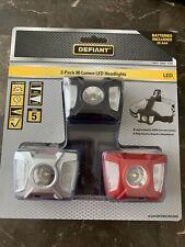 New Defiant 80 Lumen LED Headlight (3-Pack) Headlamp