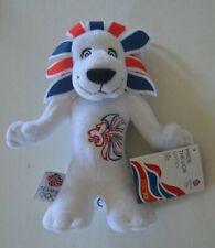 "2012 London Olympics Team GB Pride the Lion plush soft cuddly toy 9"" 20cm"
