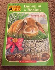 ANIMAL ARK Bunny in a Basket BEN M. BAGLIO Paperback Book EASTER Rabbit