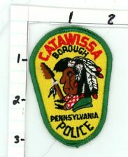 CATAWISSA POLICE PENNSYLVANIA PA NICE NEW COLORFUL PATCH SHERIFF