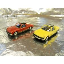 ** Herpa 451611-1 VW Porsche 914 2 Car Pack 1:87 HO Scale Red / Yellow