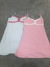 2 Blooming Marvellous Maternity/Nursing Strapless Summer Night Dress Size S 8/10