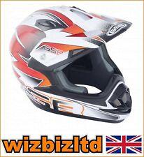 GSB MX Helmet XP-14B Graphic Orange Large GSB012L