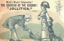 Jollities Play Boston Press Notes Stage Show Trade Card #2 P3
