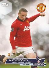 "Premier Gold 2013 - ""Wayne Rooney, Manchester United"" Basic Card #54"