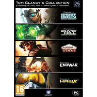Tom Clancy's Collection (5 game pack) PC 100% Brand New