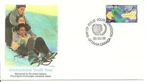 Canada SC #1045 International Youth Year FDC.Fleetwood.