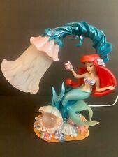 Disney Ariel Little Mermaid Seaflower Lamp - Rare - Works!