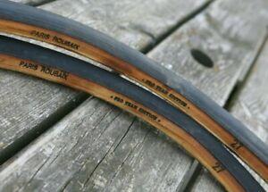 MINT set (2) FMB Paris Roubaix Pro Team Edition tubulars sew up tires 700c 27