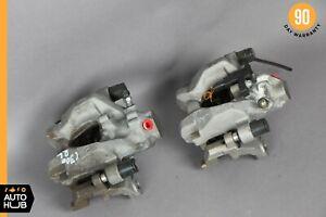 08-14 Mercedes W204 C300 C350 Rear Right And Left Brake Caliper Calipers Set OEM