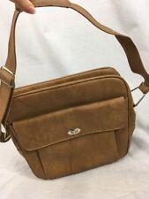 Vintage Beige Tan Samsonite Sentry Carry On Shoulder Bag Messenger Luggage