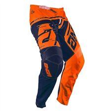 Answer 2018 Syncron Flo Naranja Azul Adulto Raza Pantalones Pantalones Motocross Enduro