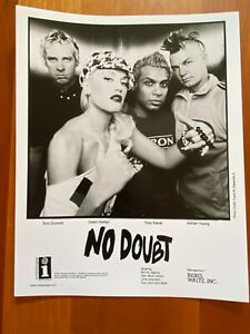 NO DOUBT-GWEN STEFANI- PROMO PICTURE--FROM 2000-VERY RARE