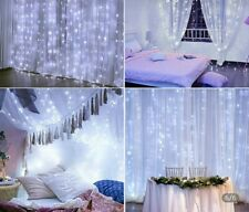 LED CURTAIN LIGHTS 3m by 3m- fairy/party/wedding indoor- home decor