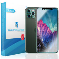 2x iLLumi AquaShield Screen [Case Friendly+Camera Lens] Apple iPhone 11 Pro 5.8""