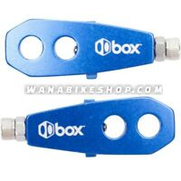 Box Components Two BMX Bicycle Chain Tensioner Blue