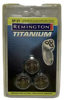 REMINGTON TITANIUM MICROFLEX ULTRA SP21 REPLACEMENT HEADS & CUTTERS SERIES R9000
