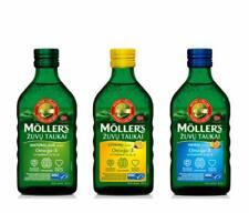 Möller's Omega-3 Lebertran (3x Geschmack 3 x 250ml) Lebertran natürlich EPA DHA