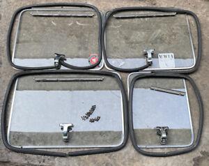G10, G20 Chevy GMC Van Pop Out  REAR & SIDE DOOR  Windows Vandura 83-97 set 4
